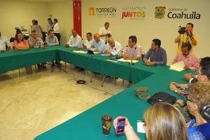 18 de julio   Cruzada. Se llevó a cabo la primera sesión Regional de la Cruzada Nacional Contra el Hambre en los municipios de Matamoros, San Pedro y Sierra Mojada.