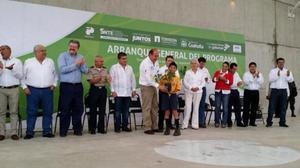 6 de septiembre   Campaña. El gobernador Rubén Moreira puso en marcha la campaña de Reforestación 'Ver de Torreón lo Mejor'.