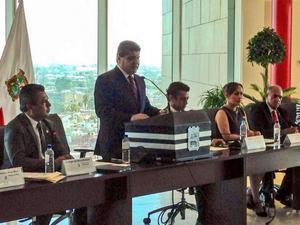 8 de septiembre   Aniversario. El alcalde Miguel Riquelme encabezó el inicio de los festejos por el 107 aniversario de Torreón con la lectura del Decreto 1029 del XIX Congreso del Estado de Coahuila del 12 de julio de 1907.