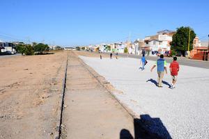 15 de noviembre   Parque. En la colonia Residencial del Norte iniciaron los trabajos de construcción del parque 'Línea Verde Oriente'.