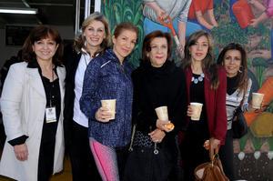 09122014 Adela, Astrid, Jossie, Eva María, Eva y Ana Cristina.