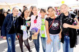10122014 Karina, Wendy, Kenia, Edith, Lilia y Miriam.