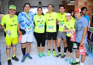 11122014 Equipo de corredores Run 4 Fun.