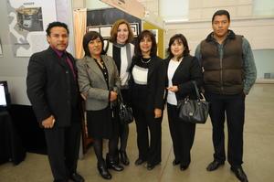 11122014 Luis Antonio, Zenorina, Sandra, Rocío, Claudia y Javier.