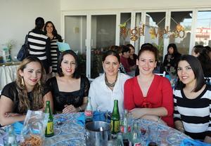 12122014 Claudia, Priscila, Neti, Karla y América.