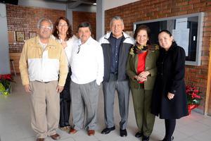 15122014 Oroselia Jara, Raquel Aguilar, José Ángel González y Luz Jiménez.