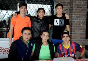 16122014 Diego, José, Luis, Ricardo, Rafael y Luis Mario.