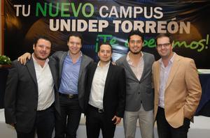 18122014 Skandar, Alfredo, Nicolás, Roberto y Juan Bosco.
