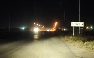 Cada vez son más las luminarias apagadas en el bulevar Laguna, con el riesgo general.