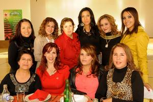 21122014 Aurora, Bárbara, Alejandra, Nuria, Lidia, Nuria, Cristy, Nancy, Dorita, Marisol y Aracely.