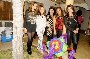 23122014 Enna, Lorena, Renata, Martha y Bety.