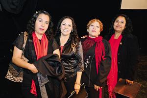 23122014 Gina, Lety, Norma y Sandra.