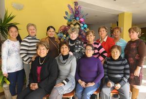 24122014 POSADA ENTRE AMIGAS.  Arantza, Blanca, Marina, Rosy, Olga, Paty, Lulú, María Elena, Angélica, Lupita, Inés y Chepis.