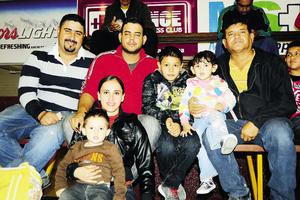 28122014 José, Ramón, Filiberto, Augusto, Joel, Laura y Margarita.