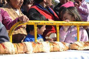 Las colonias a donde llegó la tradicional rosca de Reyes fueron Zaragoza Sur, Abastos y La Aviación.