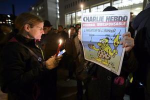 En Ginebra, Suiza, también se concentraron en manifestaciones de condena a los ataques terroristas.