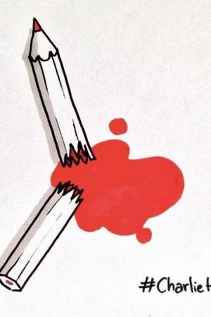 El ataque a la libertad de expresión fue muy recurrido por caricaturistas como Cyprien.