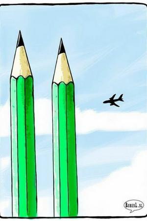 El holandés Ruben Oppenheimer hizo esta alusión a los atentados del 11-S en Nueva York.