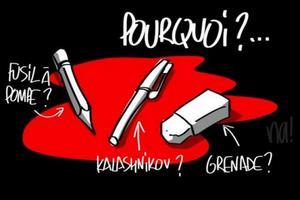 ¿Por qué? Es una de las preguntas que se hacen caricaturistas como los de Na! Dessinateur.
