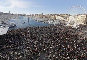 Estas movilizaciones son la antesala a la planeada para el domingo en París.