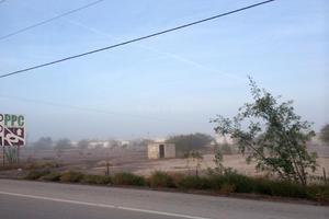 Ante la neblina, Torreón registró una temperatura mínima de 6 grados centígrados por la mañana.