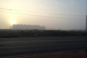 La Comarca Lagunera amaneció con neblina en diversos sectores de la periferia.