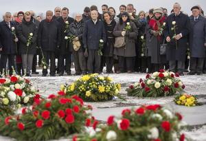 Supervivientes de Auschwitz y delegaciones de todo el mundo conmemoraron en el antiguo emplazamiento del campo de exterminio nazi el 70 aniversario de su liberación.