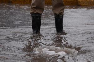 En Torreón se registraron durante la mañana 12 milímetros de lluvia, pero fue aumentando ante las constantes precipitaciones.