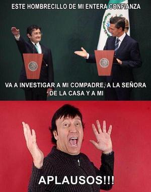 Algunos tomaron con humor la reacción de Peña Nieto.