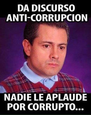 Algunos usuarios criticaron las medidas que presentó el presidente en contra de la corrupción.