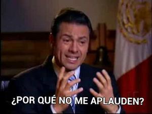Decenas de imágenes burlándose del presidente Peña se viralizaron en la red social Twitter.