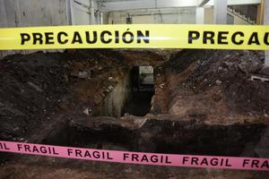 Protección Civil se ha encargado de resguardar el sitio para evitar complicaciones.