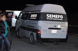 El Servicio Médico Forense empezó a levantar los cuerpos y la tarea duró hasta después de la media noche.