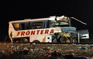 La unidad accidentada salió de Nuevo Laredo, Tamaulipas, con dirección a Nueva Rosita, Coahuila.