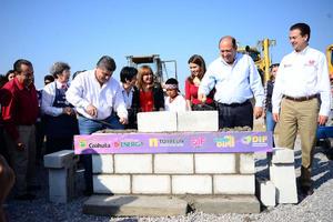 7 de noviembre | Obra. Con una inversión de 154 millones de pesos, el ayuntamiento de Torreón inició la obra de la Ciudad DIF luego de cuatro años de que se anunció en la pasada administración.