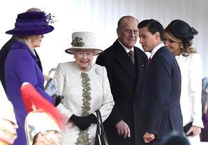 El presidente Enrique Peña Nieto inició la primera visita de Estado que realiza al Reino Unido.