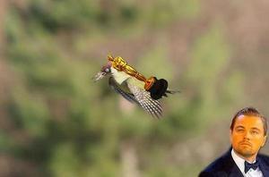 El Oscar de Leonardo DiCaprio se fue volando con el pájaro.