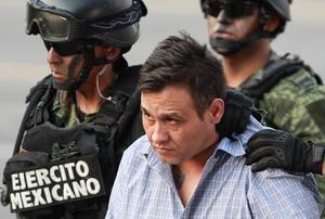 Omar Treviño, de 38 años de edad, y originario de Nuevo Laredo, era otro de los delincuentes más buscados en el país por varios años.