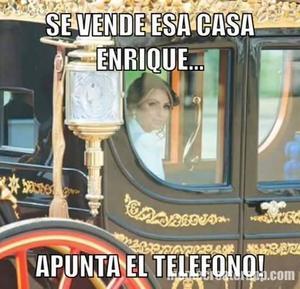 El caso de la casa blanca de Angélica Rivera no pudo faltar entre los memes.
