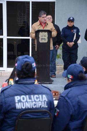 El alcalde Miguel Riquelme encabezó el evento.
