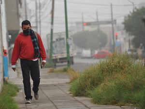 Las bajas temperaturas han regresado sorpresivamente a La Laguna.