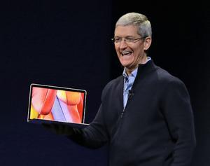 Apple también presentó los nuevos modelos de la MacBook.