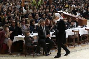 """La """"Brasserie Gabrielle"""", en honor al nombre de la fundadora, abrió ayer sus puertas al Grand Palais."""