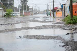 Los caminos ya han sufrido afectaciones por el agua.