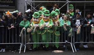 Comenzado a las 11 de la mañana, el desfile avanzó cerca de 80 cuadras sobre la exclusiva Quinta avenida.