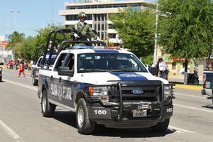 Se sumó el contingente de militares y policías estatales y rurales.