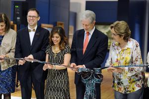 Con la presencia de los directores de los tres museos mexicanos Héctor Rivero Borrell, del Franza Mayer; Alfonso Miranda, del Soumaya; y Carmen Gaitán Rojo, del San Carlos; fue inaugurada la exposición en el Museo Arocena.