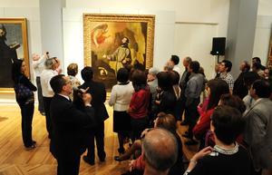 """La exposición """"El reino de las formas: Grandes maestros"""", abrió sus puertas en el Museo Arocena."""