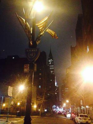 Diversos edificios de los más importantes del mundo en Nueva York se unieron a la causa.