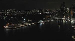 Sidney fue la primer ciudad que se unió a la iniciativa, dejando a sus sitios históricos en la penumbras.